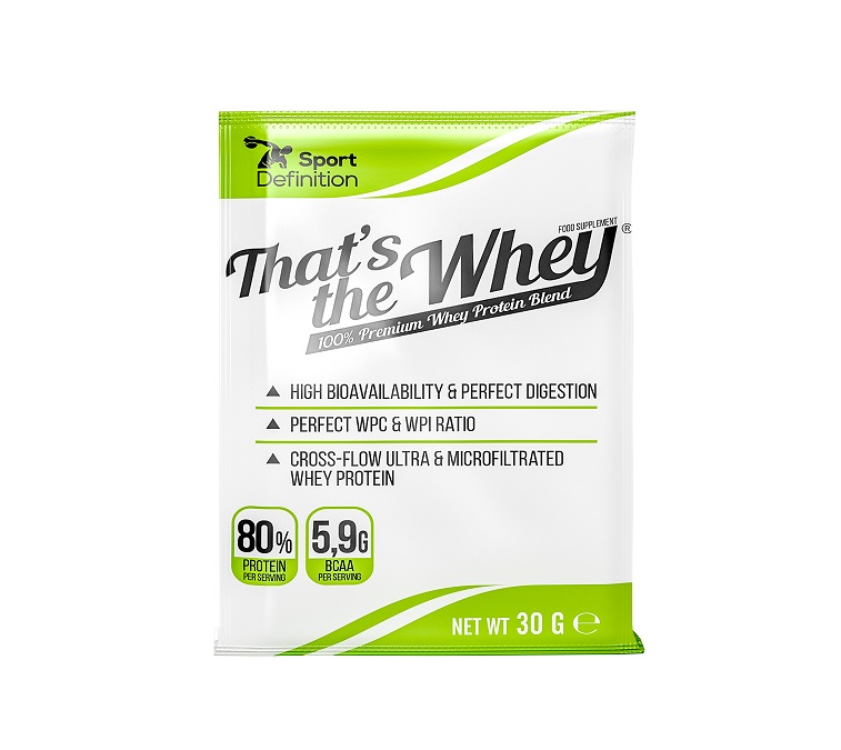 Sport Definition That′s The Whey 30g доза (Суроватъчен протеин концентрат и изолат)
