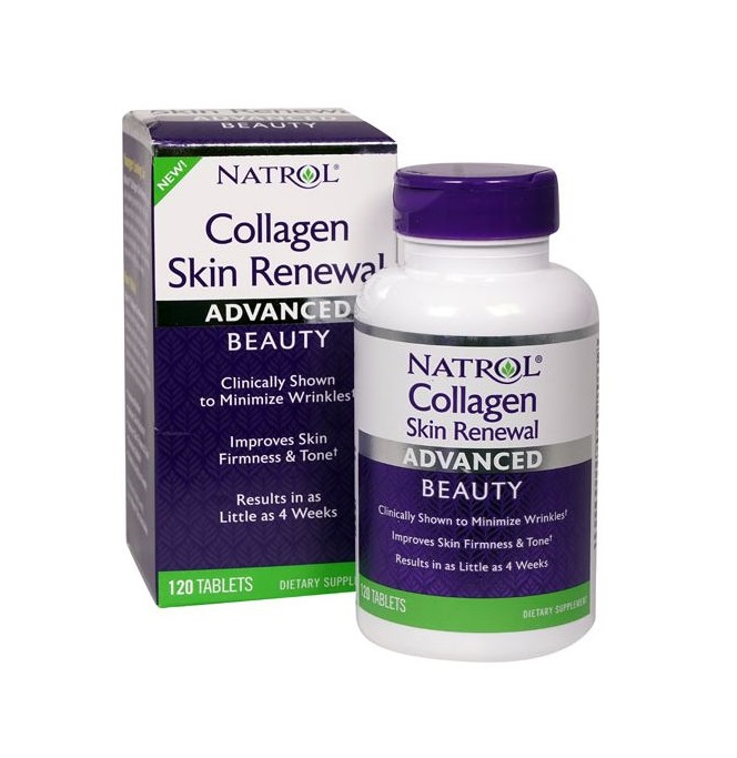 Natrol Collagen Skin Renewal 120tabs