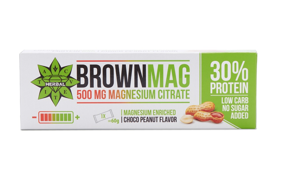 Cvetita Herbal Brownmag Peanut 60g