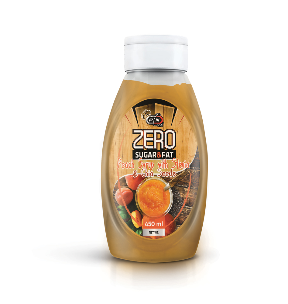 Pure Nutrition Zero Calorie Syrup Peach&chia 500ml
