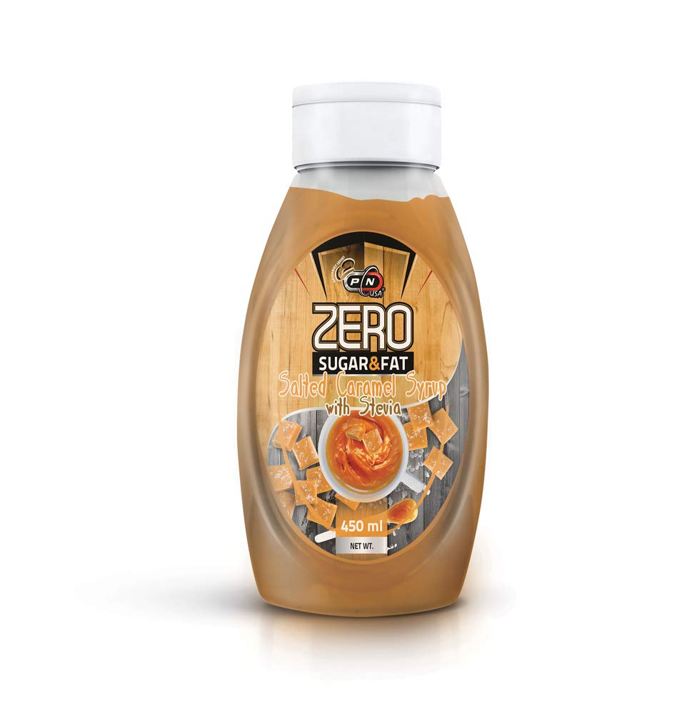 Pure Nutrition Zero Calorie Syrup Salted Caramel 450ml