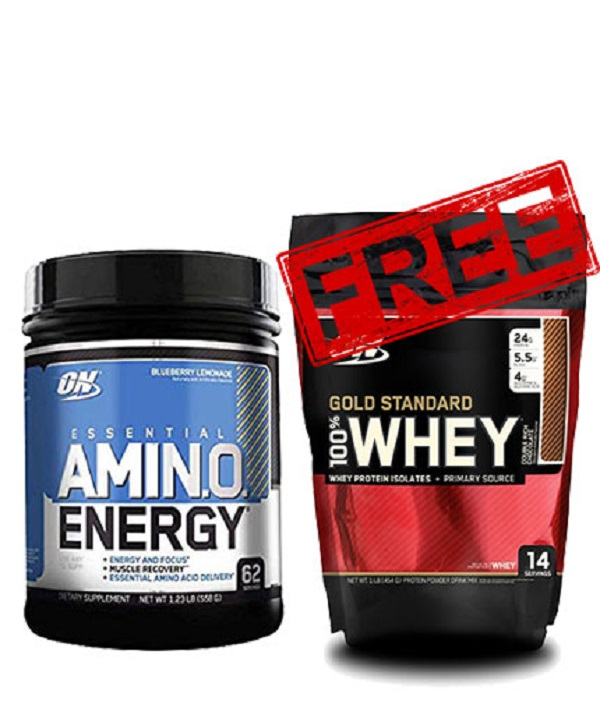 Amino Energy + Gold Standard Whey Free