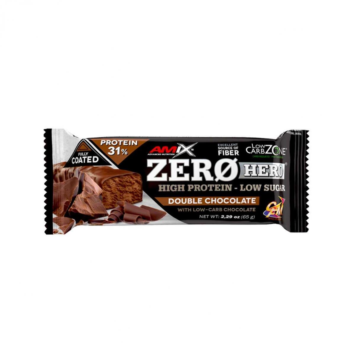 AMIX Zerohero Protein Bar 65g