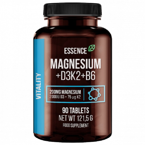Essence Nutrition Magnesium+d3k2+b6