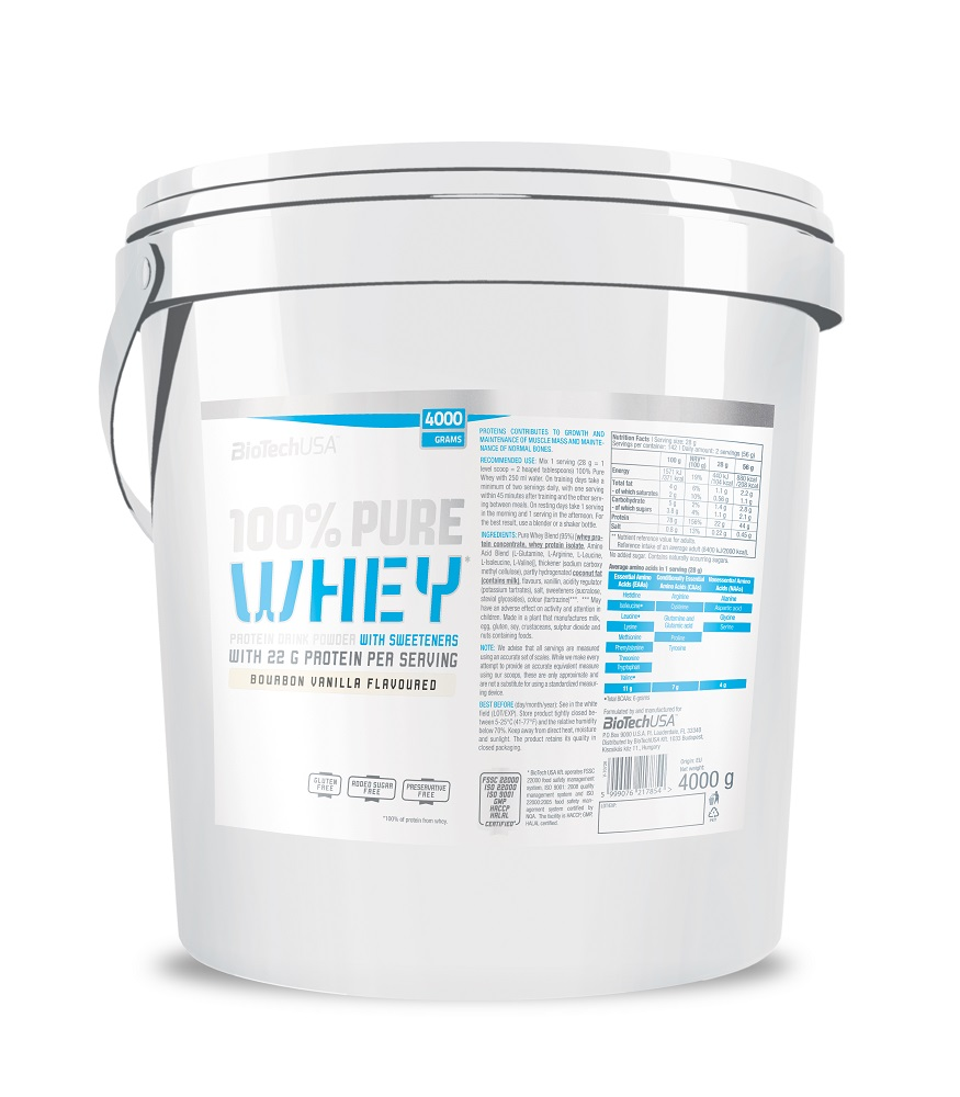 100% Pure Whey 4kg