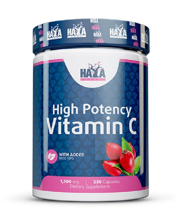 High Potency Vitamin C 1,000mg With Rose Hips