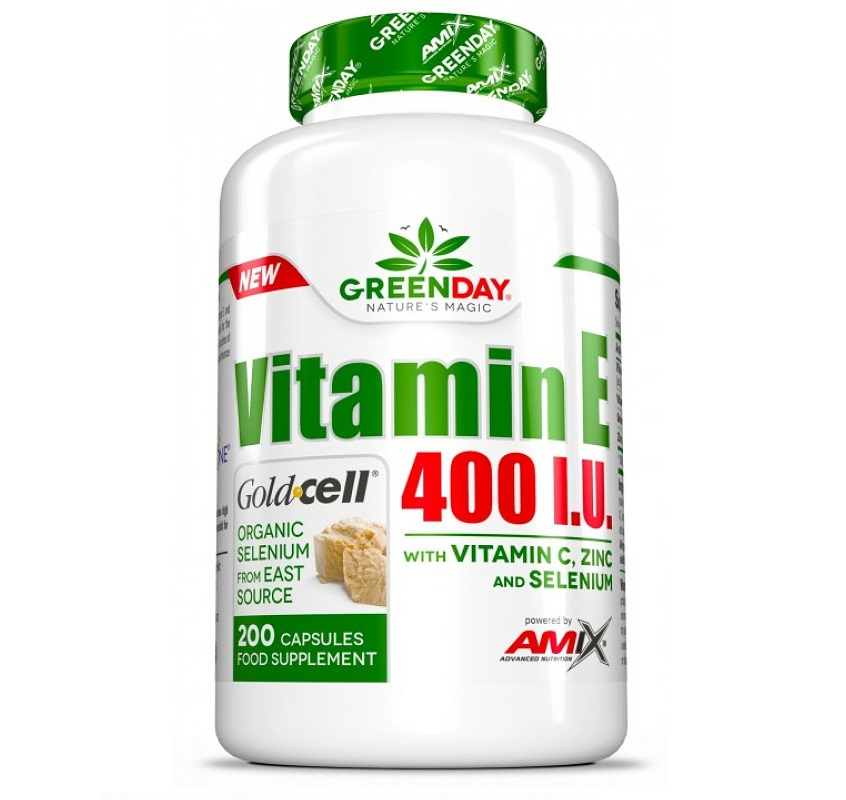 AMIX Greenday Vitamin E 400 Iu 200caps