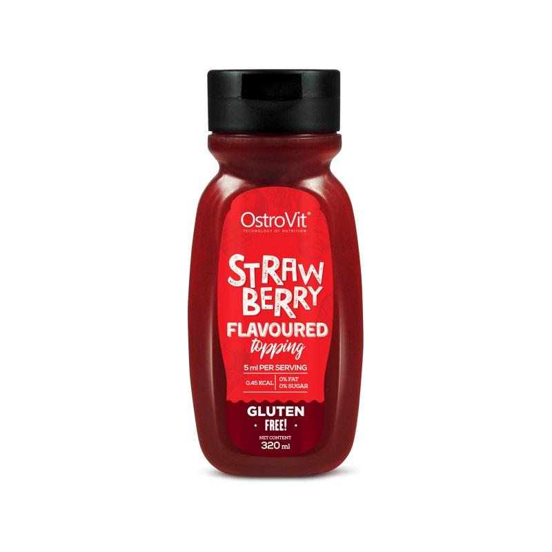 OstroVit Strawberry Syrup Zero Calorie 320ml