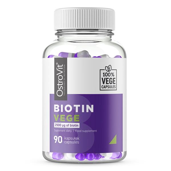 OstroVit Biotin Vege 90caps