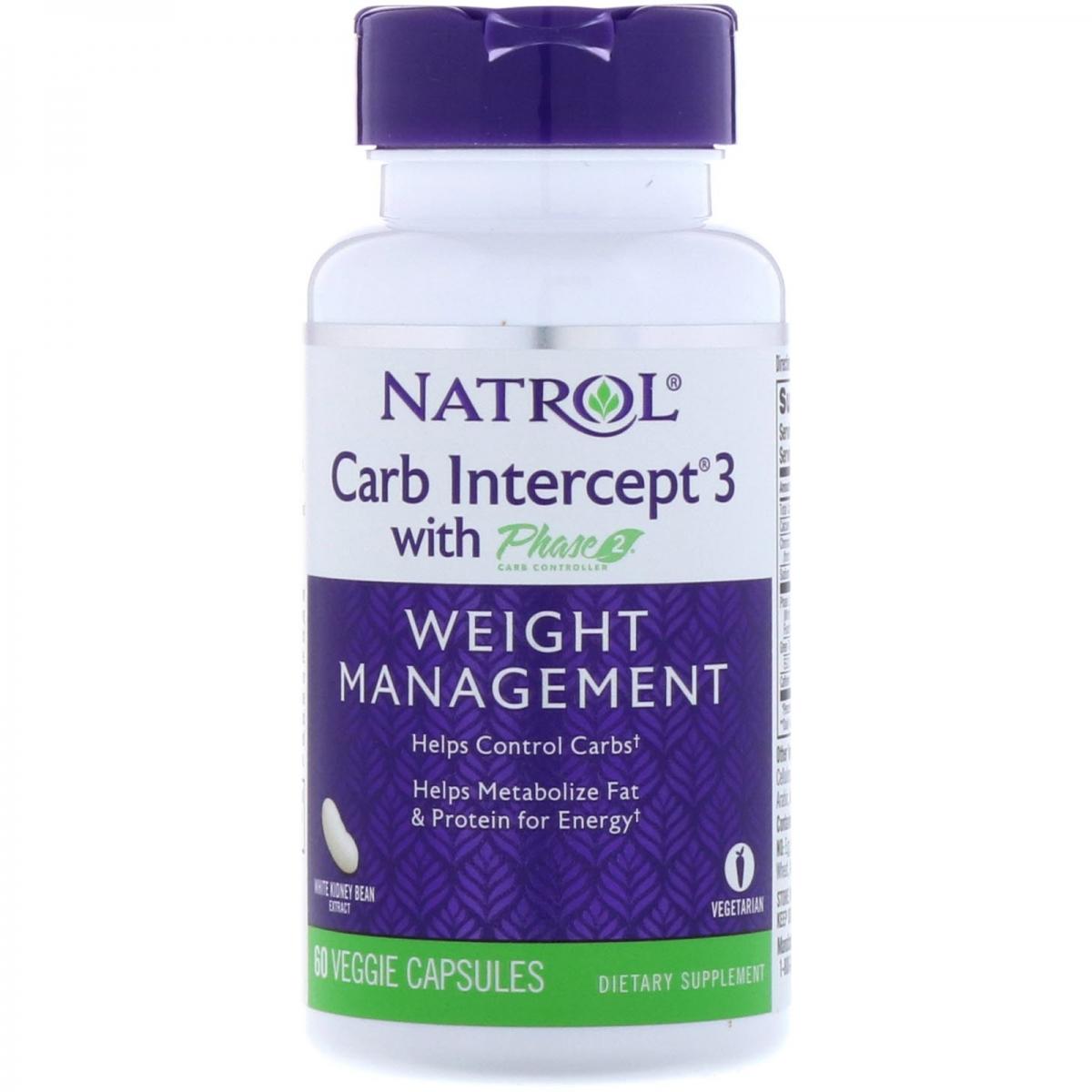 Natrol Carb Intercept  Phase 3