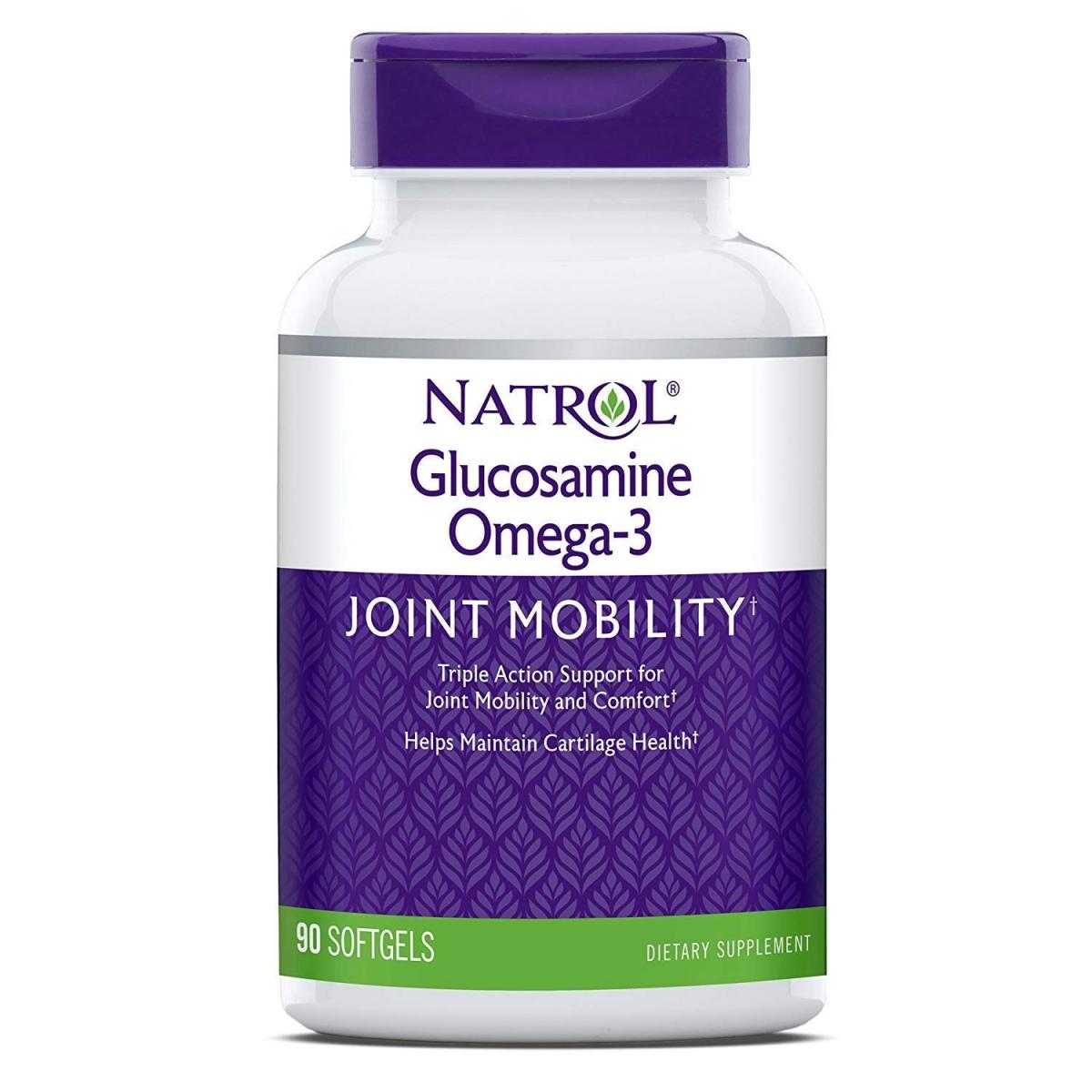 Natrol Glucosamine Omega-3