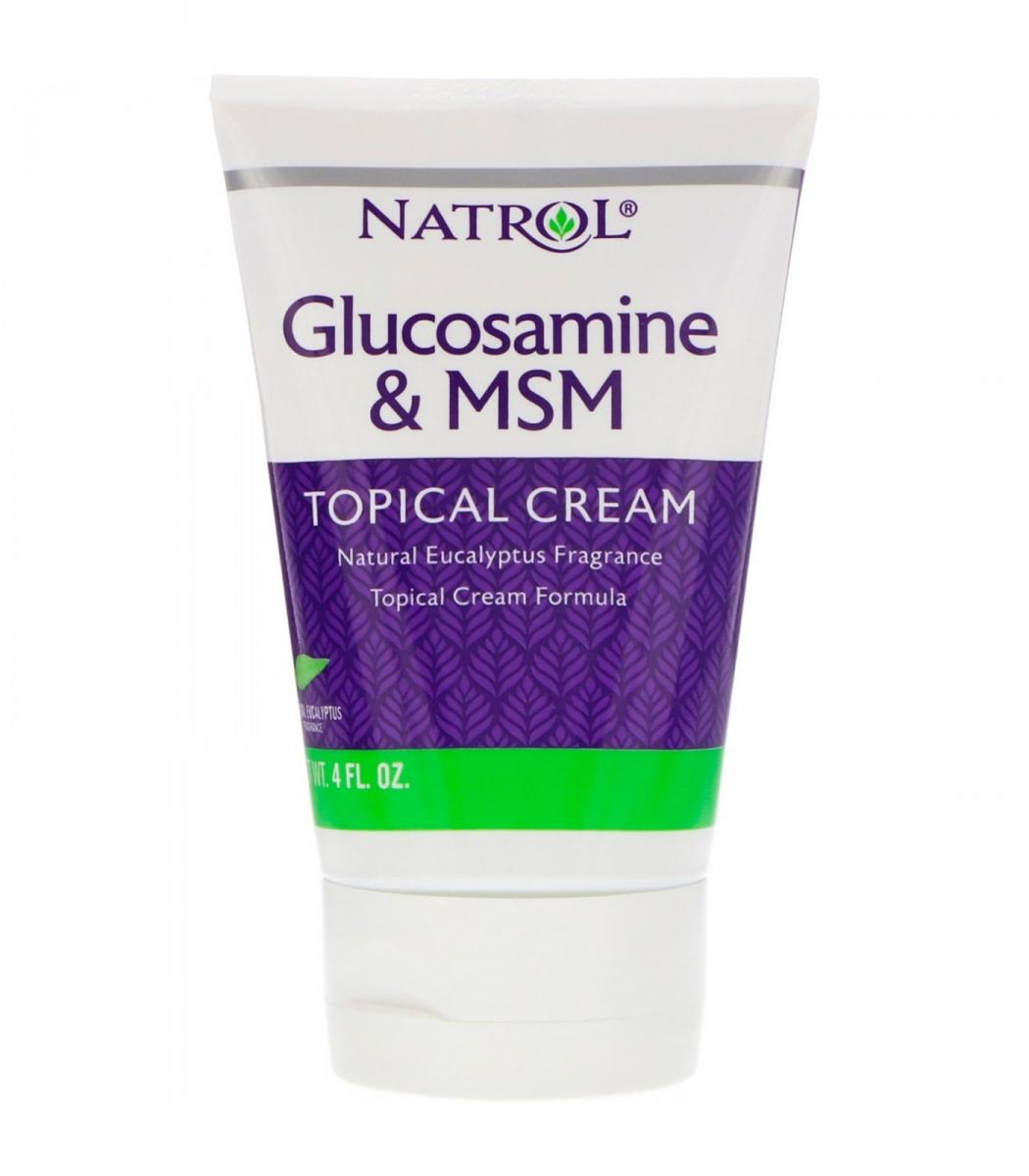 Natrol Msm & Glucosamine Creme