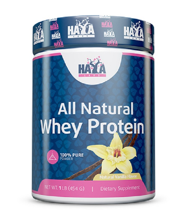 HAYA Labs 100% Pure All Natural Whey Protein Vanilla