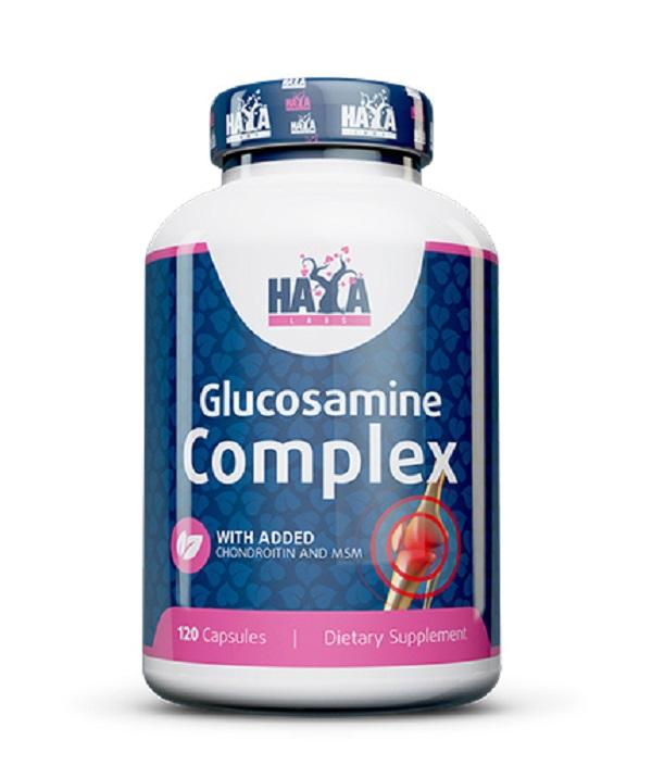 HAYA Labs Glucosamine Chondroitin & Msm Complex
