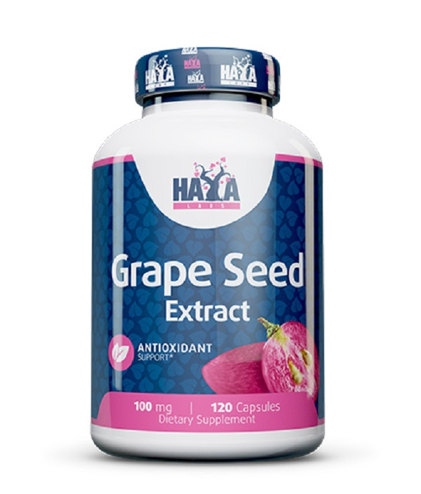 HAYA Labs Grapeseed Extract 100mg 120caps