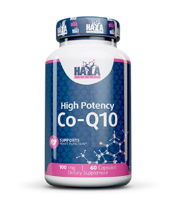 HAYA Labs High Potency Co-q10 100mg 60caps