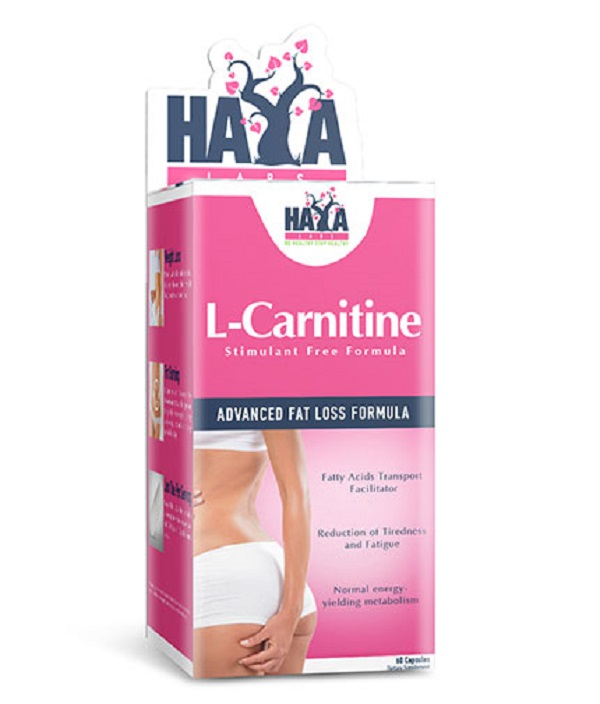 HAYA Labs L-carnitine 250mg 60caps
