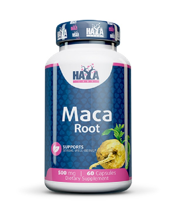 HAYA Labs Maca 500mg 60caps