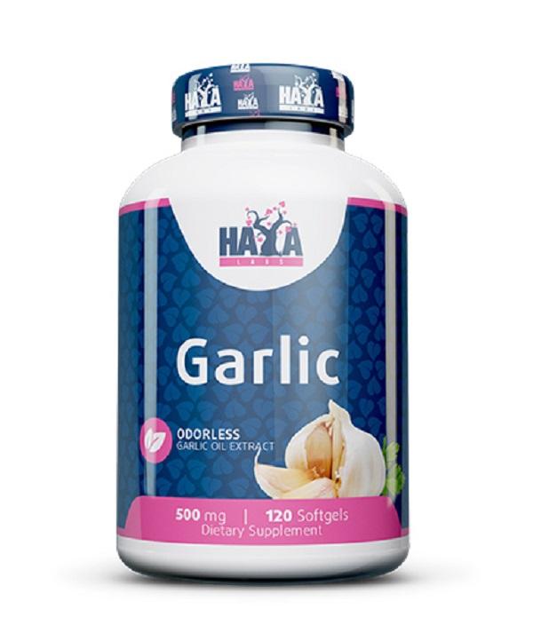 HAYA Labs Odorless Garlic 500mg 120caps