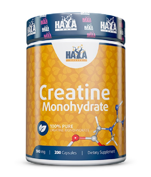 HAYA Labs Sports Creatine Monohydrate 500mg 200caps