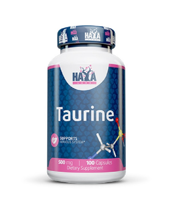 HAYA Labs Taurine 500mg 100caps