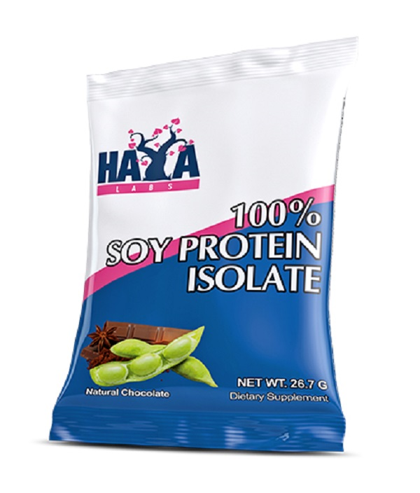 HAYA Labs 100% Soy Protein Isolate / Non Gmo 26,7g