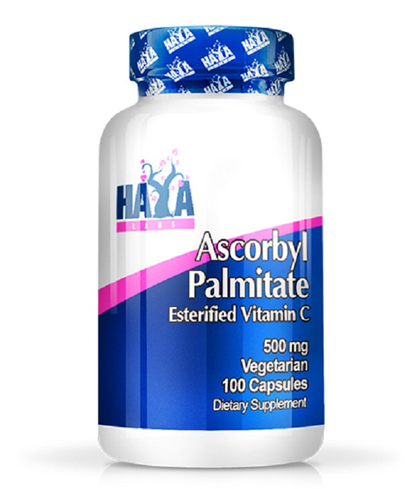 HAYA Labs Ascorbyl Palmitate 500mg 100caps