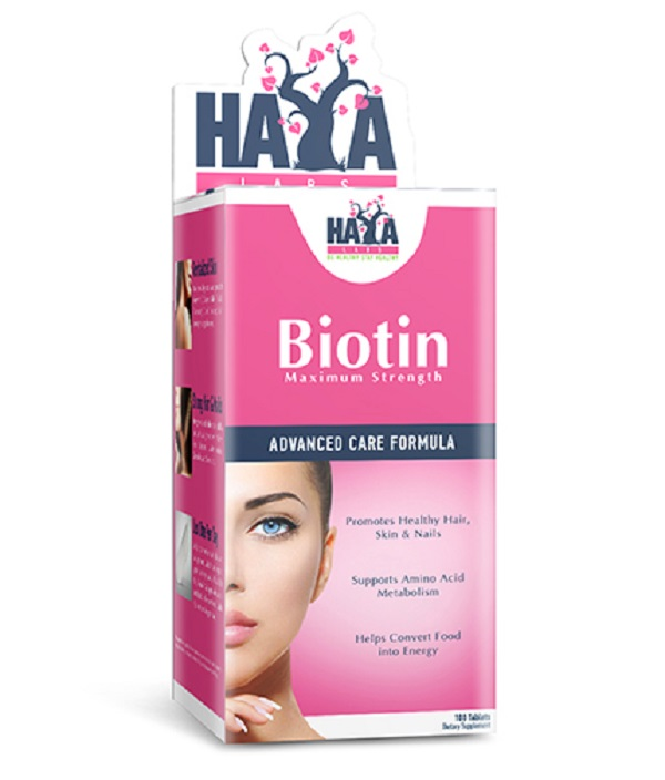 HAYA Labs Biotin Maximum Strength 10000mcg 100tabs