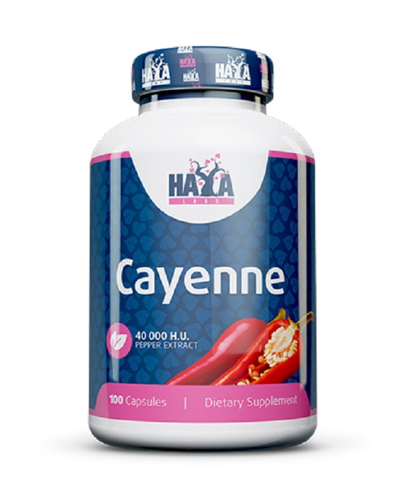 HAYA Labs Cayenne Pepper Extract 40000hu 100caps