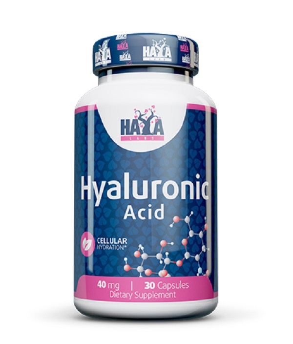 HAYA Labs Hyaluronic Acid 40mg 30caps