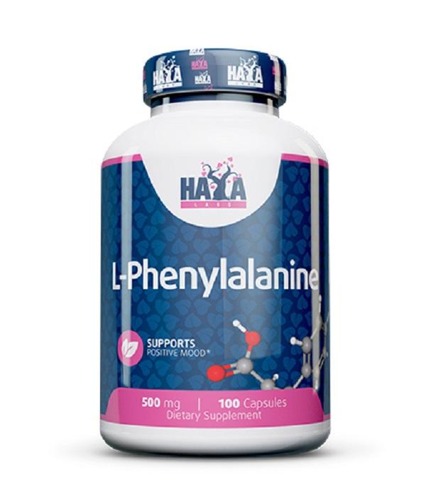 HAYA Labs L-phenylalanine 500mg 100caps