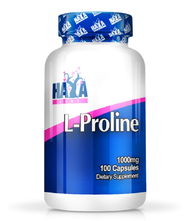 HAYA Labs L-proline 1000mg 100caps