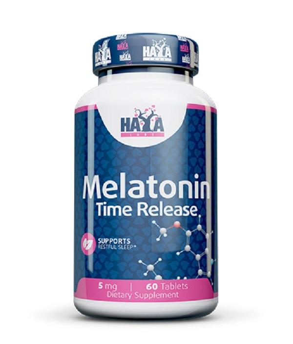HAYA Labs Melatonin Time Release 5mg 60tabs