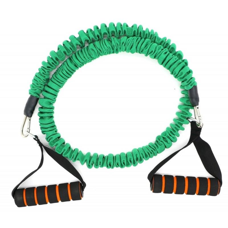Active Gym Тренировъчен ластик в ръкав със съпротивление / Зелен / 5 кг