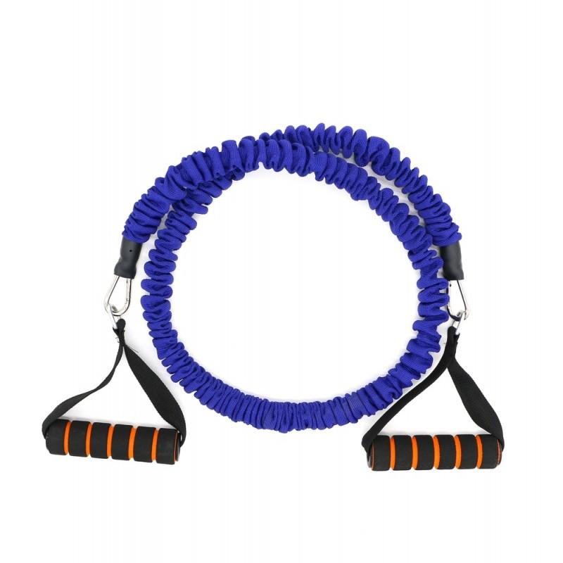 Active Gym Тренировъчен ластик в ръкав със съпротивление / Син / 10 кг