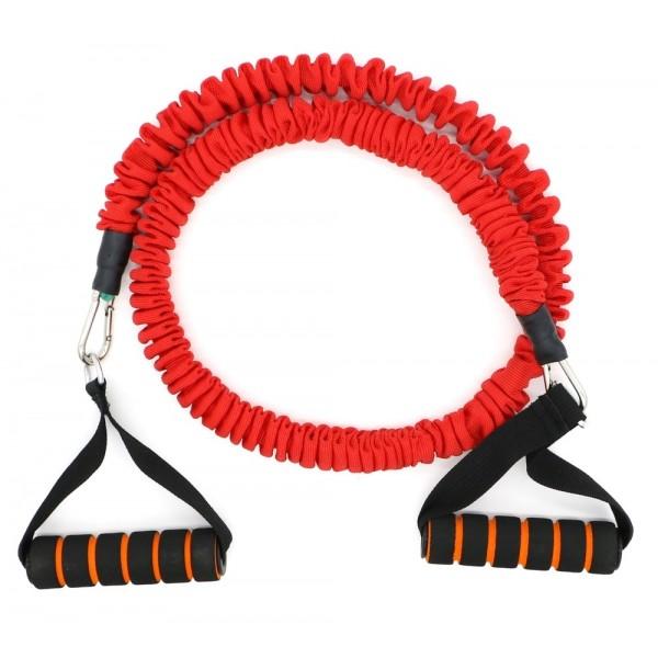 Active Gym Тренировъчен ластик в ръкав със съпротивление / Червен / 15 кг