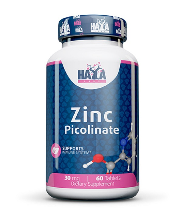 HAYA Labs Zinc Picolinate 30mg 60tabs