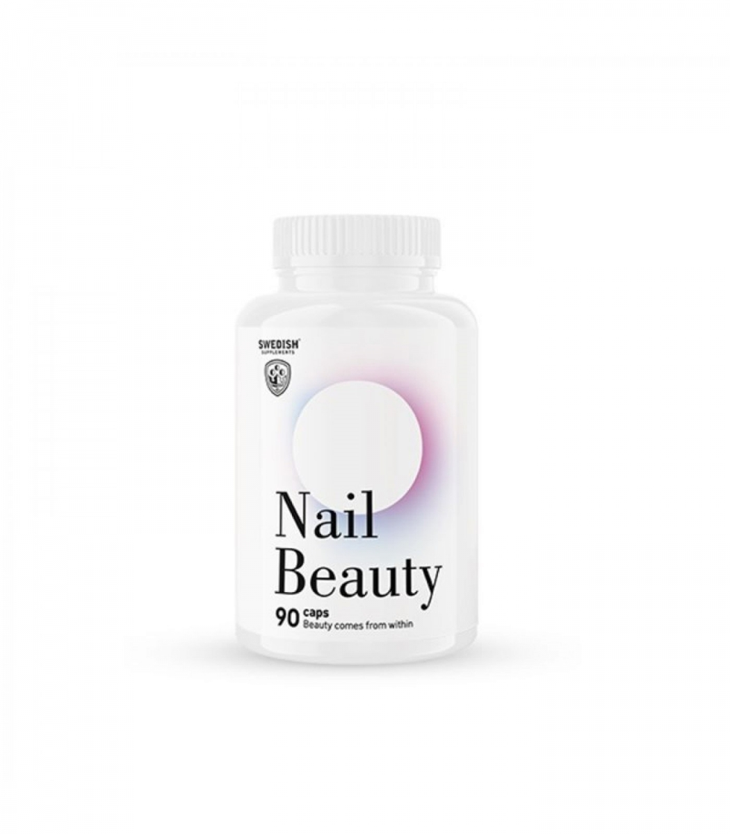 SWEDISH Supplements Nail Beauty 90caps