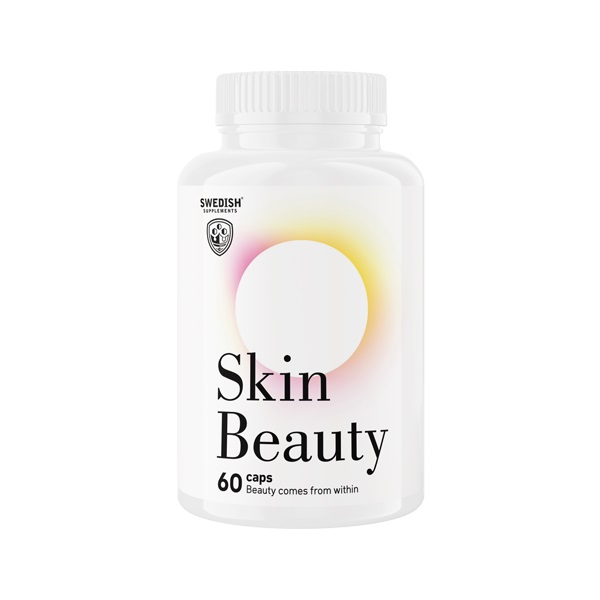 SWEDISH Supplements Skin Beauty 60caps