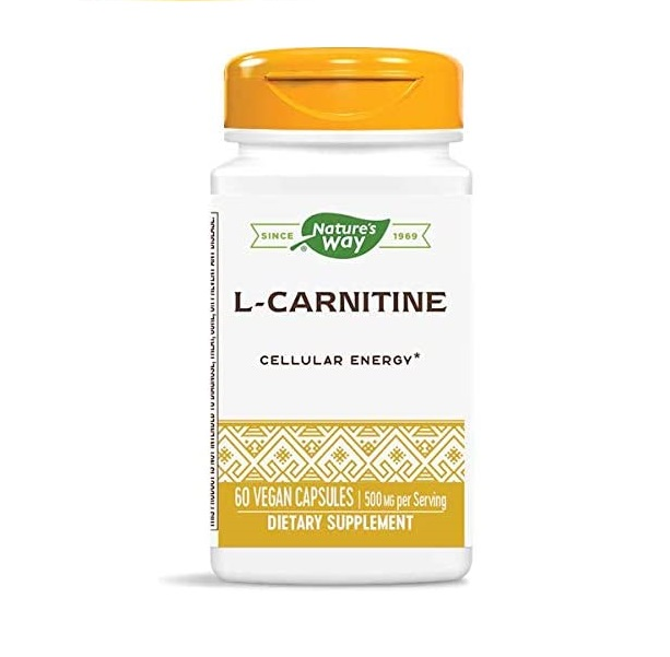 Nature′s Way L-carnitine 500mg 60caps