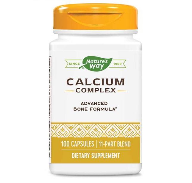Nature′s Way Calcium Complex 500mg 100caps