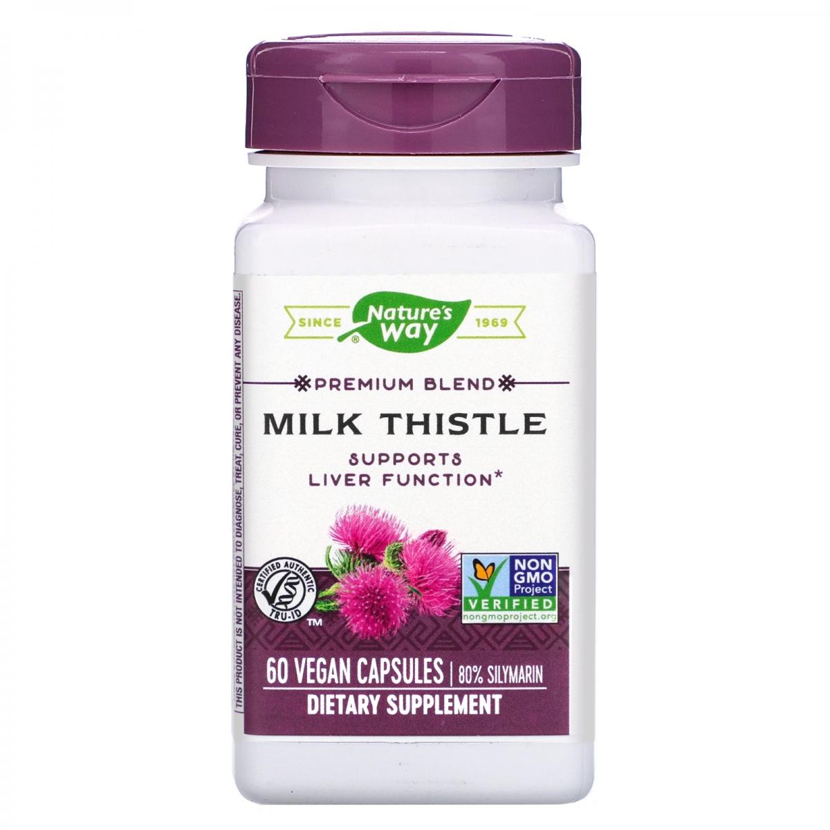 Nature′s Way Milk Thistle 60caps