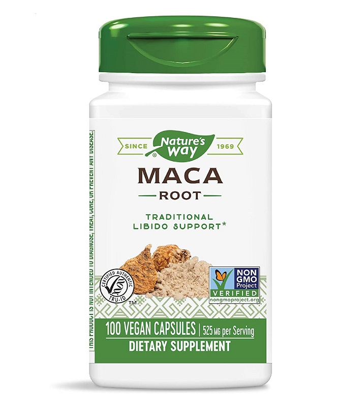Nature′s Way Maca Root 525mg 100caps