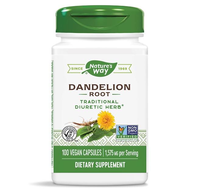 Nature′s Way Dandelion Root 525mg 100caps