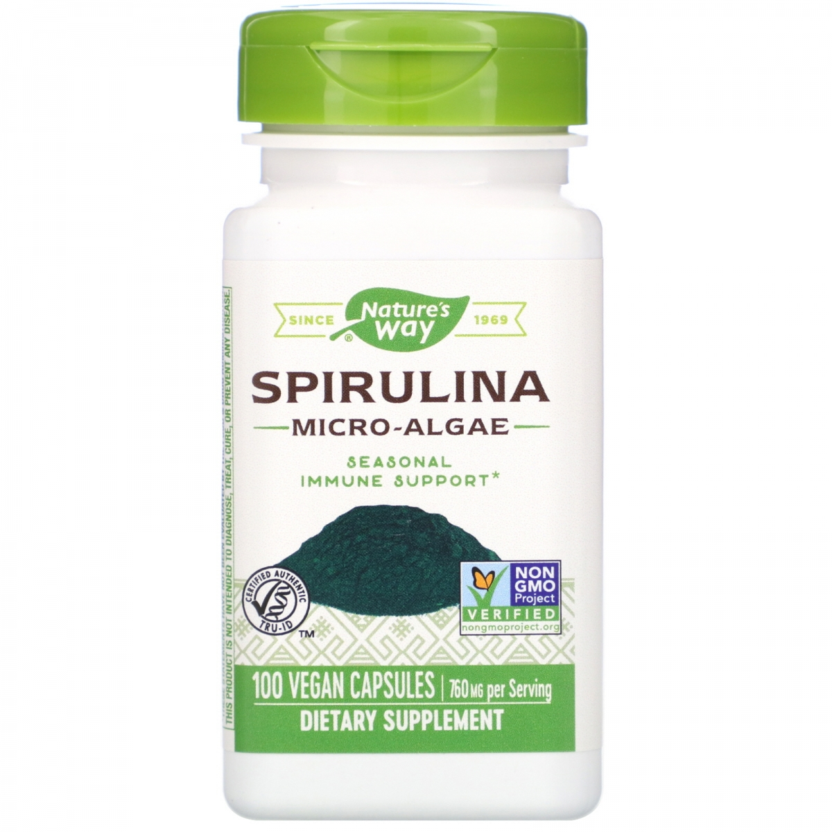 Nature′s Way Spirulina 380mg 100caps