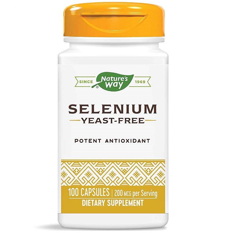 Nature′s Way Selenium 200mcg 100caps