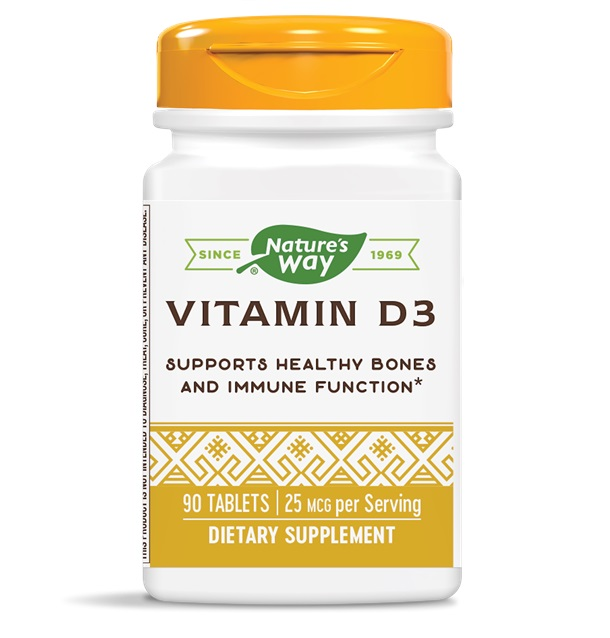Nature′s Way Vitamin D3 1000iu 90tabs