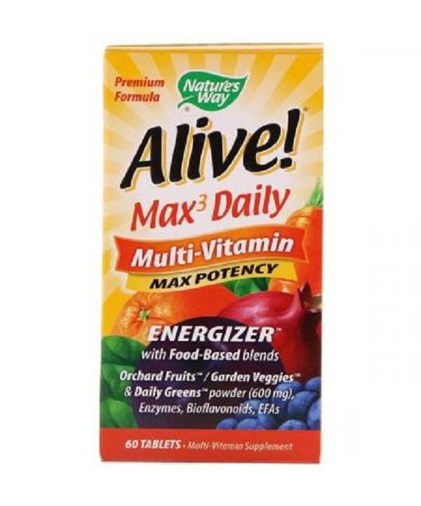 Nature′s Way Alive! Multi-vitamin 60tabs