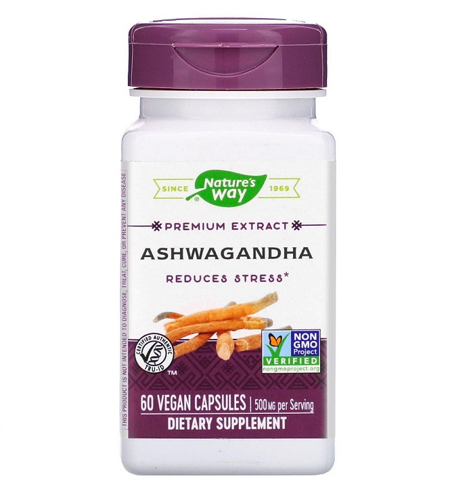 Nature′s Way Ashwagandha 500mg 60caps