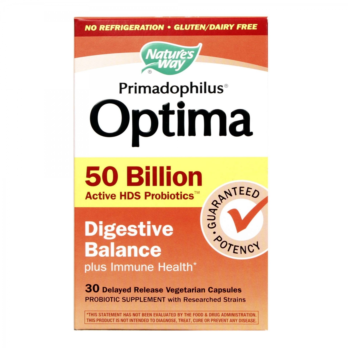 Nature′s Way Fortify Optima Digestive Balance 30caps
